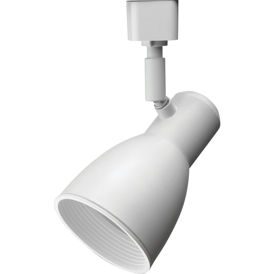 Lithonia Black Track Lighting: Lithonia Lighting LTHNSTBF Series Head 1-Light Matte White