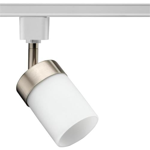 Lithonia Lighting 1 Light Brushed Nickel Flat Back Linear Standard Track Head At Lowes
