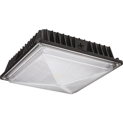 10 In 4297 Lumen Integrated Led Bronze Switch Controlled Canopy Light