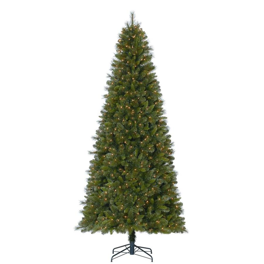 holiday living 9 ft pre lit robinson fir artificial christmas tree with 700 constant - 9ft Pre Lit Christmas Tree