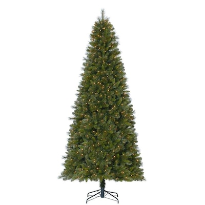 Pvc Christmas Tree Plans.9 Ft Pre Lit Robinson Fir Artificial Christmas Tree With 700 Constant White Clear Incandescent Lightslights