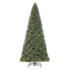holiday living 12 ft pre lit douglas fir artificial christmas tree with 1200 multi