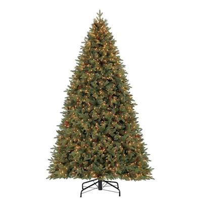 9ft Christmas Tree.Holiday Living 9 Ft Pre Lit Hayden Pine Artificial Christmas