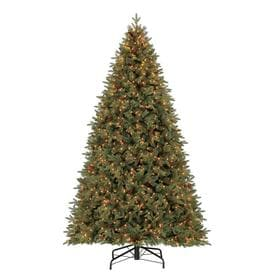 holiday living 9 ft pre lit hayden pine artificial christmas tree with 1450 constant