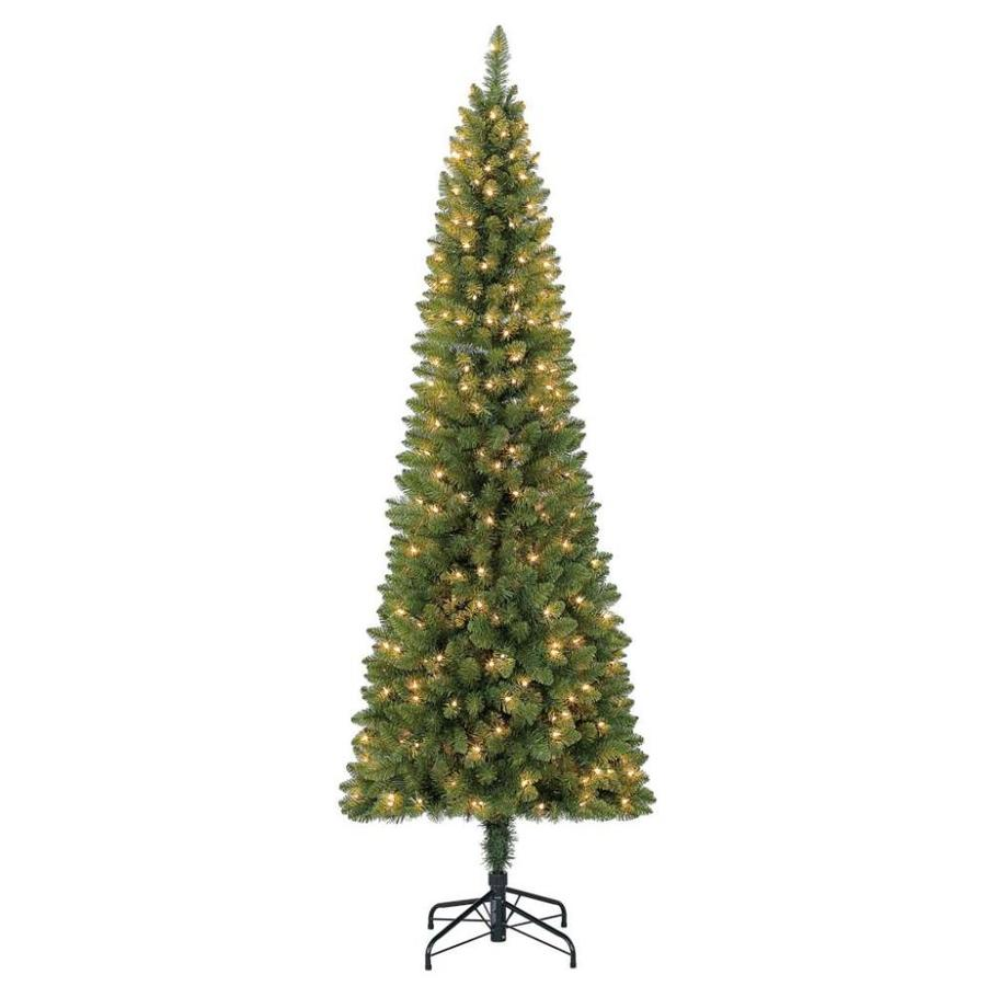 Holiday Living 7 Ft Pre Lit Greensboro Slim Artificial Christmas