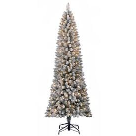 Sparse Christmas Tree Artificial.Slim Artificial Christmas Trees At Lowes Com
