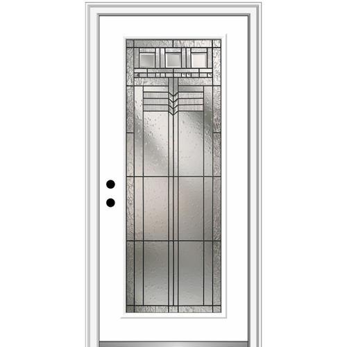 Astonishing Mmi Door Full Lite Decorative Glass Right Hand Inswing Door Handles Collection Olytizonderlifede