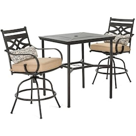 Astounding Bar Height Patio Furniture Sets At Lowes Com Download Free Architecture Designs Scobabritishbridgeorg
