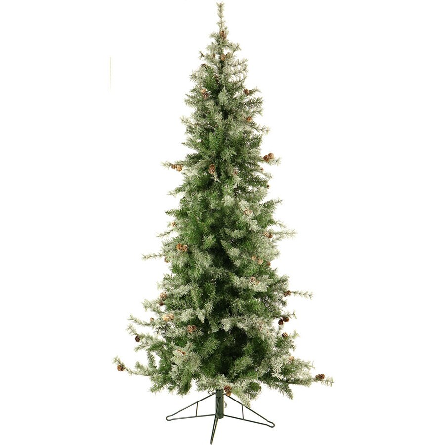 Slim 7 5 Ft Christmas Tree: Fraser Hill Farm 7.5-ft Buffalo Fir Slim Artificial