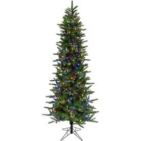 Tall Slim Christmas Trees Artificial.Slim Artificial Christmas Trees At Lowes Com
