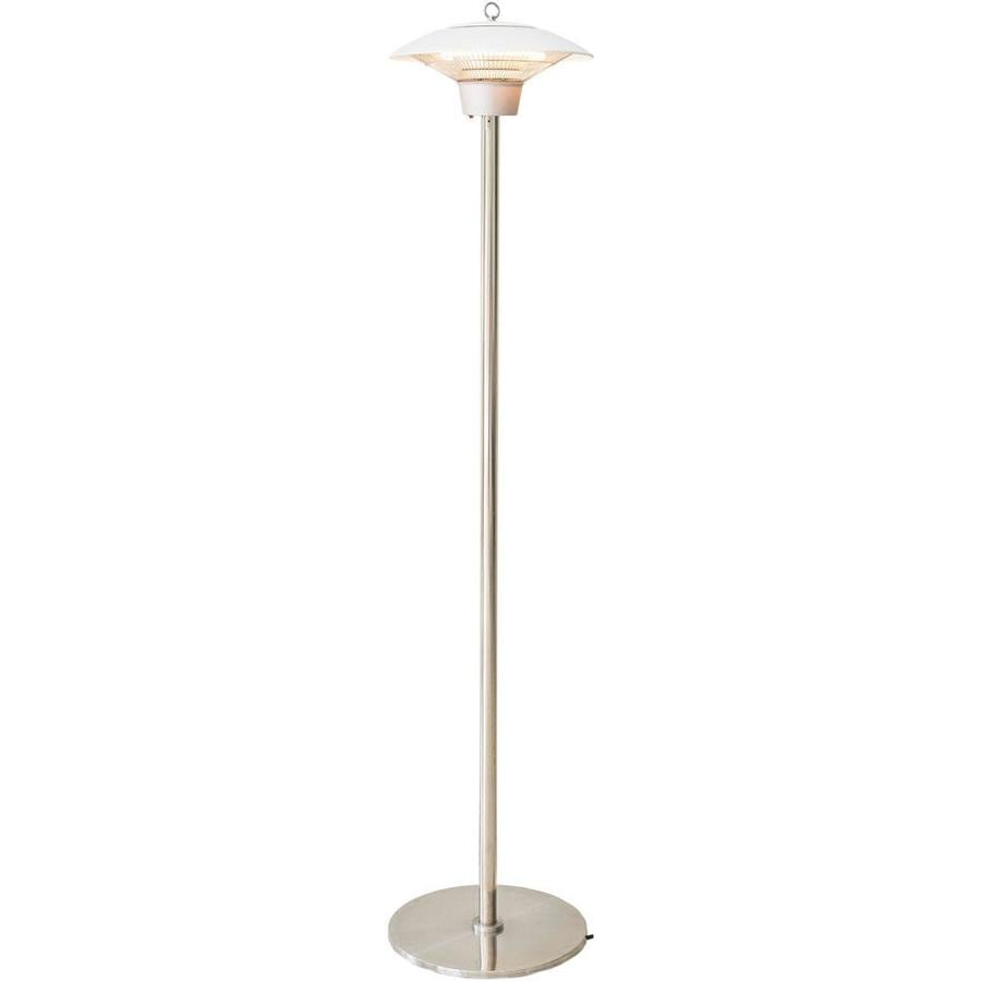 Hanover Electric Halogen Infrared Stand Heat Lamp White