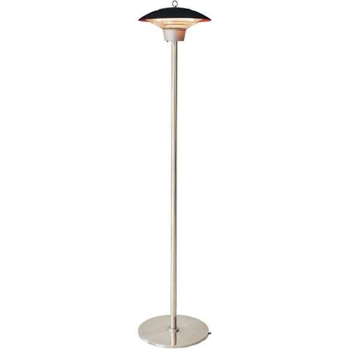 Hanover Electric Halogen Infrared Stand Heat Lamp Black At Lowes Com