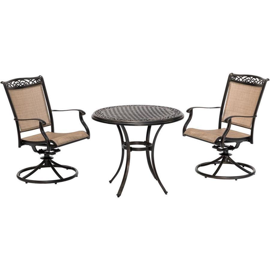 swivel chair bistro set