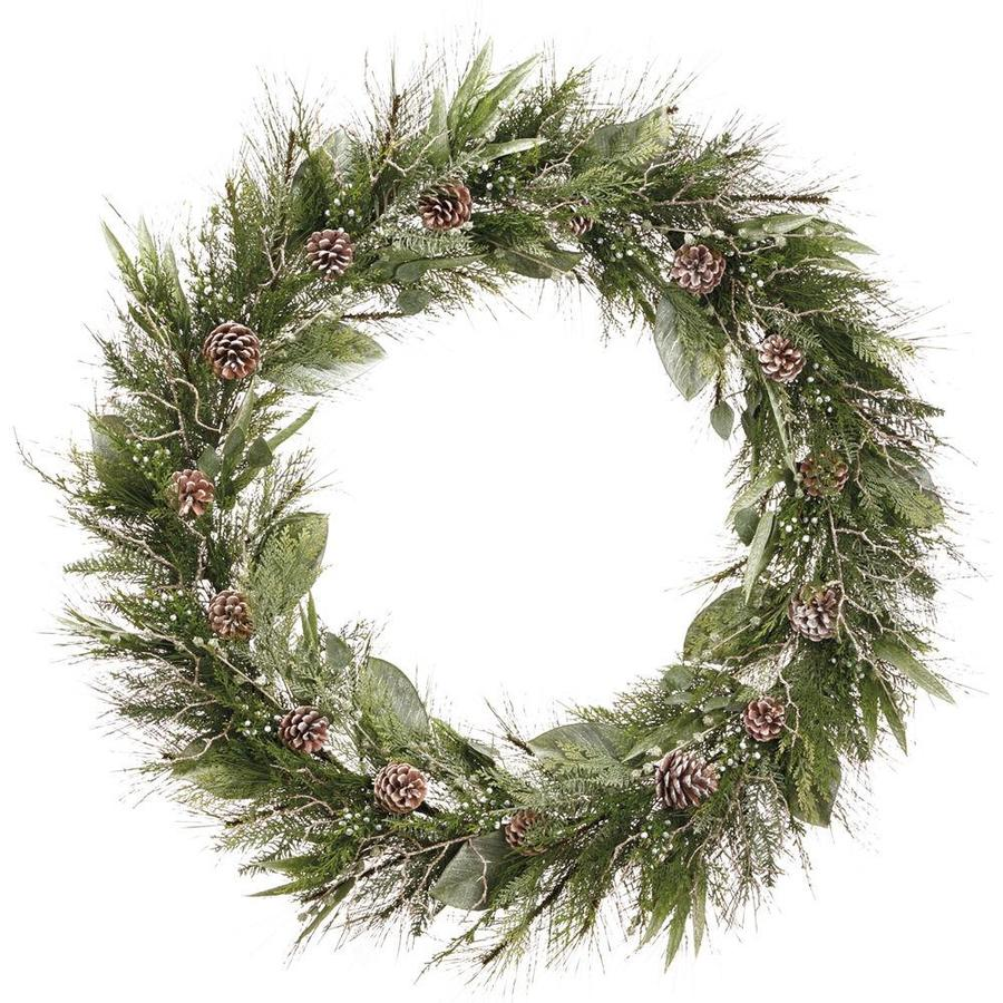 Artificial Pine Wreath Form to Decorate