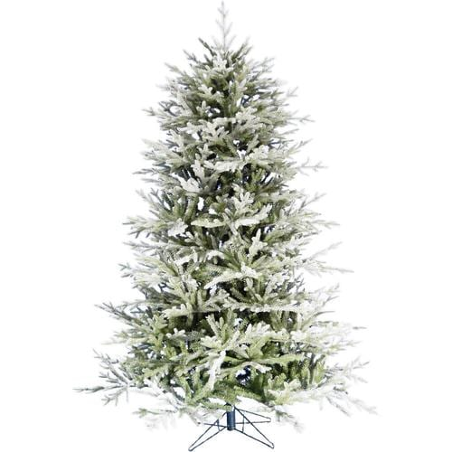 Fraser Hill Farm 9.0-Ft Highland Frosted Green Christmas ...