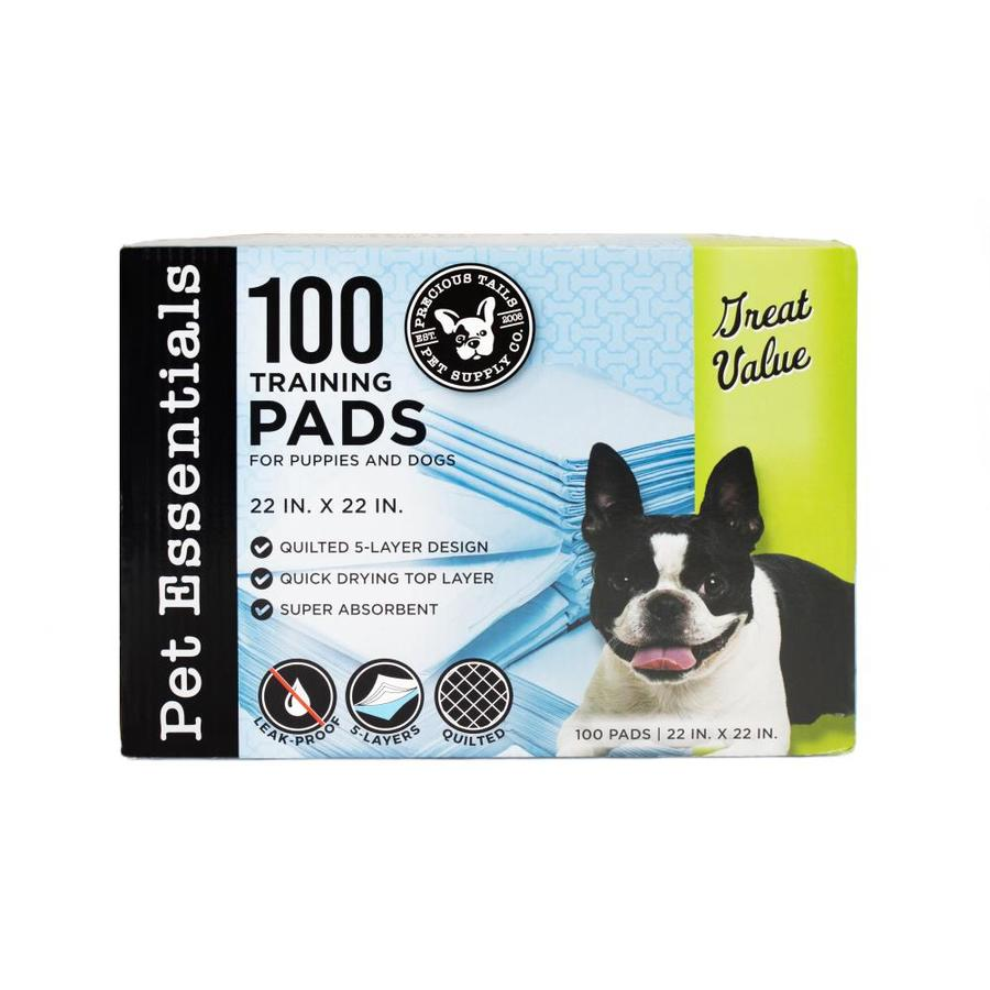Precious Tails Puppy Training Pad In The Pet Cleaning Waste Supplies Department At Lowes Com