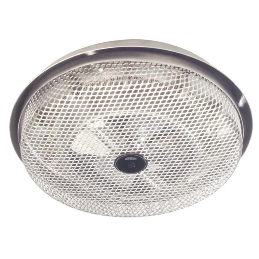 Broan Satin Aluminum Bathroom Fan And