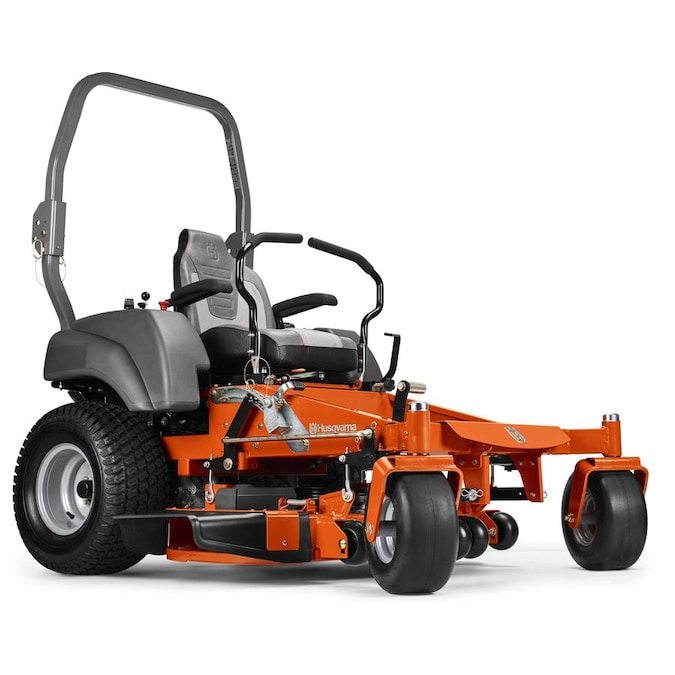 Husqvarna Mz54 24 Hp V Twin Dual Hydrostatic 54 In Zero Turn Lawn Mower With Mulching Capability Kit Sold Separately In The Zero Turn Riding Lawn Mowers Department At Lowes Com