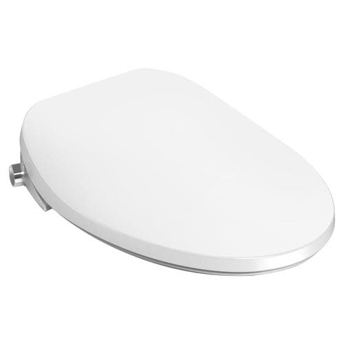 American Standard Aquawash 2 Manual Spalet White Elongated Slow Close Heated Bidet Toilet Seat In The Toilet Seats Department At Lowes Com