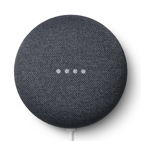Google Nest Mini (2nd Generation) with Google Assistant - Charcoal