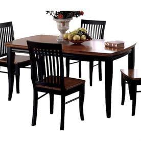 3b4457e9544 Furniture of America Earlham I Oak Wood Dining Table