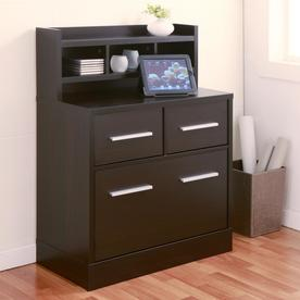 Furniture Of America Wellen Espresso 3 Drawer File Cabinet