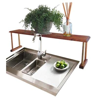 Home Basics Over the Sink Shelf at Lowes.com