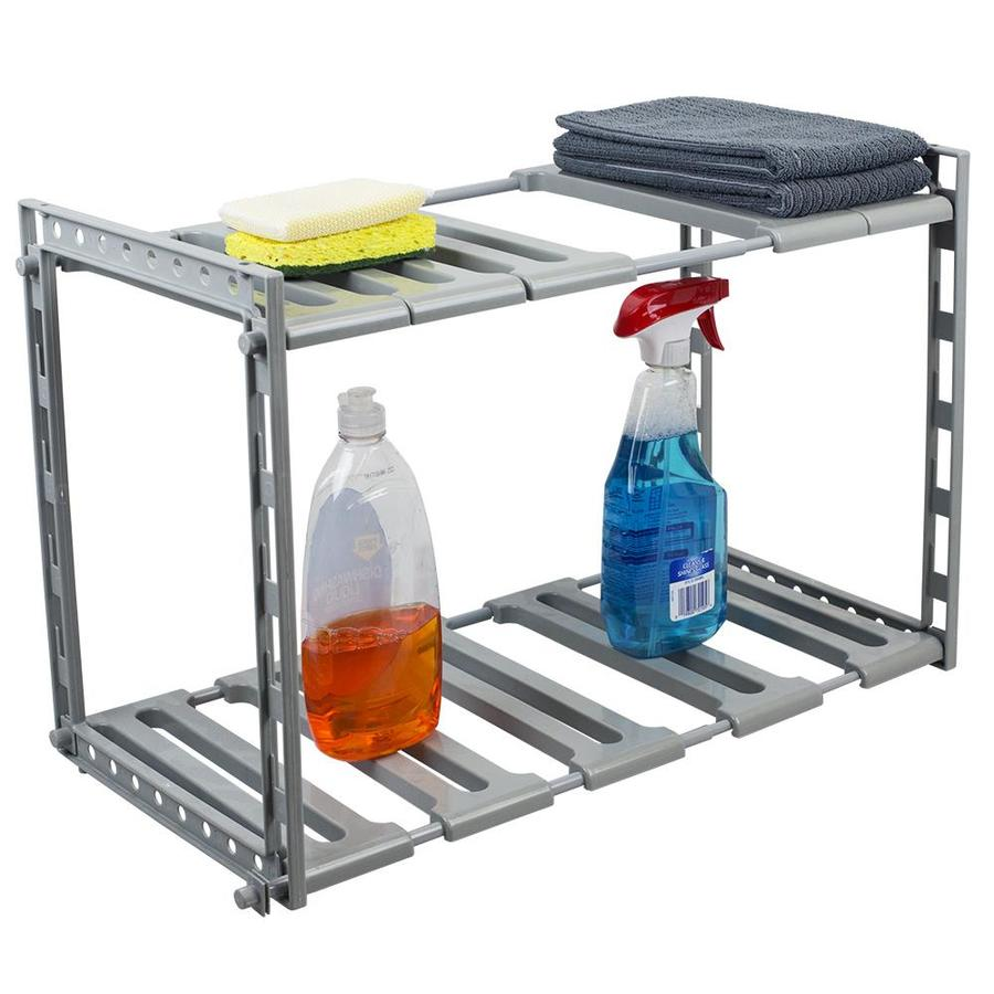 Home Basics 2 Tier Under Sink Organizer