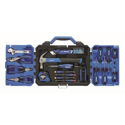 121-Piece Kobalt 15002 Household Tool Set with Folding Case