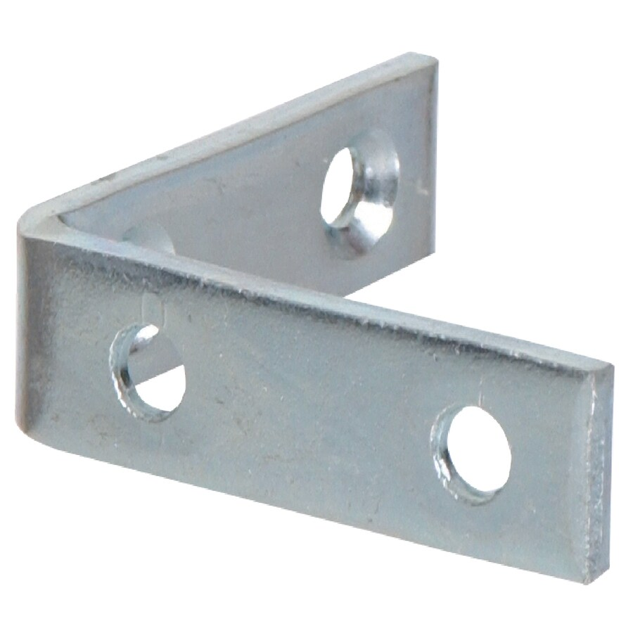 Hillman 20-Pack 3/4-in Zinc Corner Braces