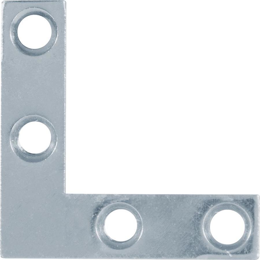 Hillman 5-Pack 1-1/2-in Zinc Corner Braces