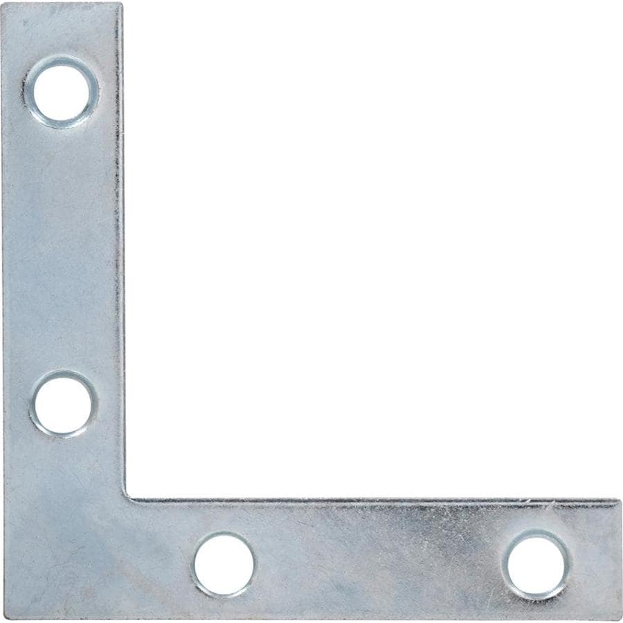 Hillman 5-Pack 2-1/2-in Zinc Corner Braces
