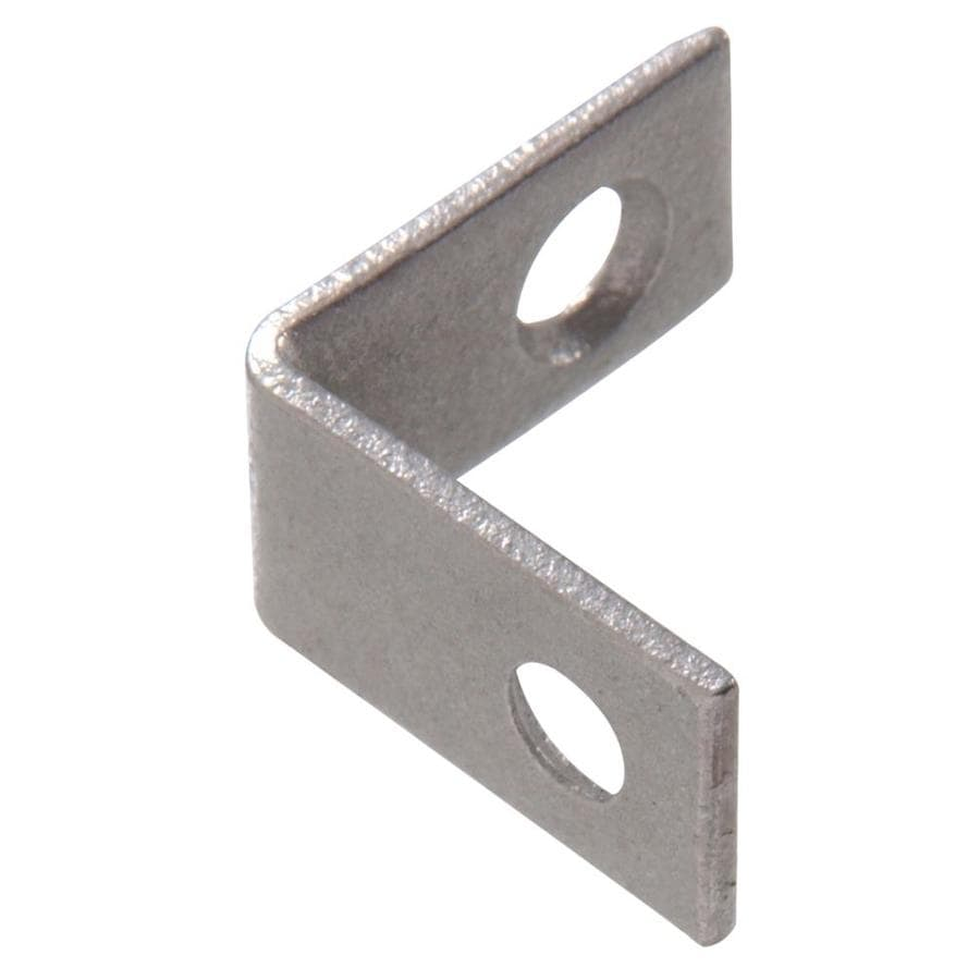 Hillman 10-Pack 1-in Galvanized Corner Braces