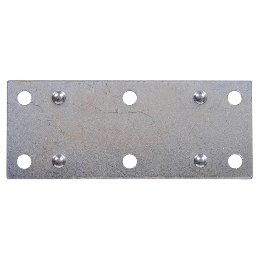 The Hillman Group 5-Pack 1.5-in x 1.38-in Zinc-Plated Mending Braces