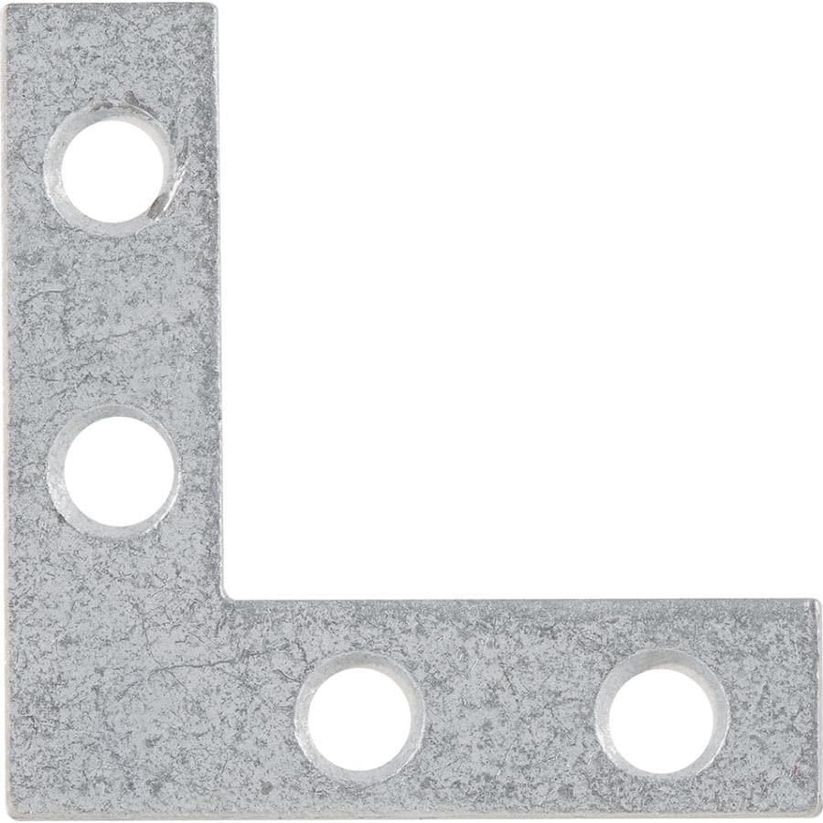 Hillman 5-Pack 1-1/2-in Galvanized Corner Braces