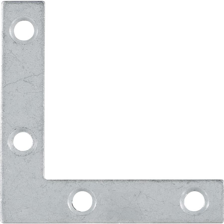 Hillman 5-Pack 2-1/2-in Galvanized Corner Braces