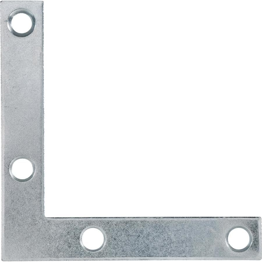 Hillman 20-Pack 3-in Zinc Corner Braces