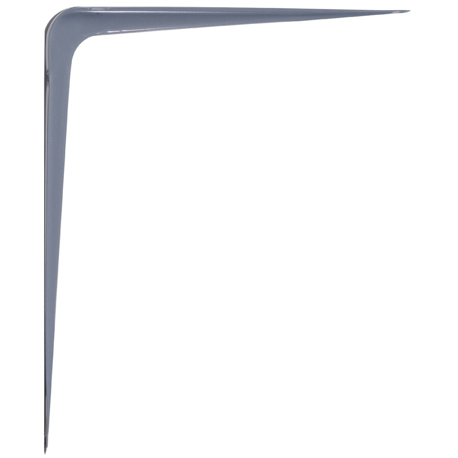 Hillman Gray L Shape Shelf Bracket