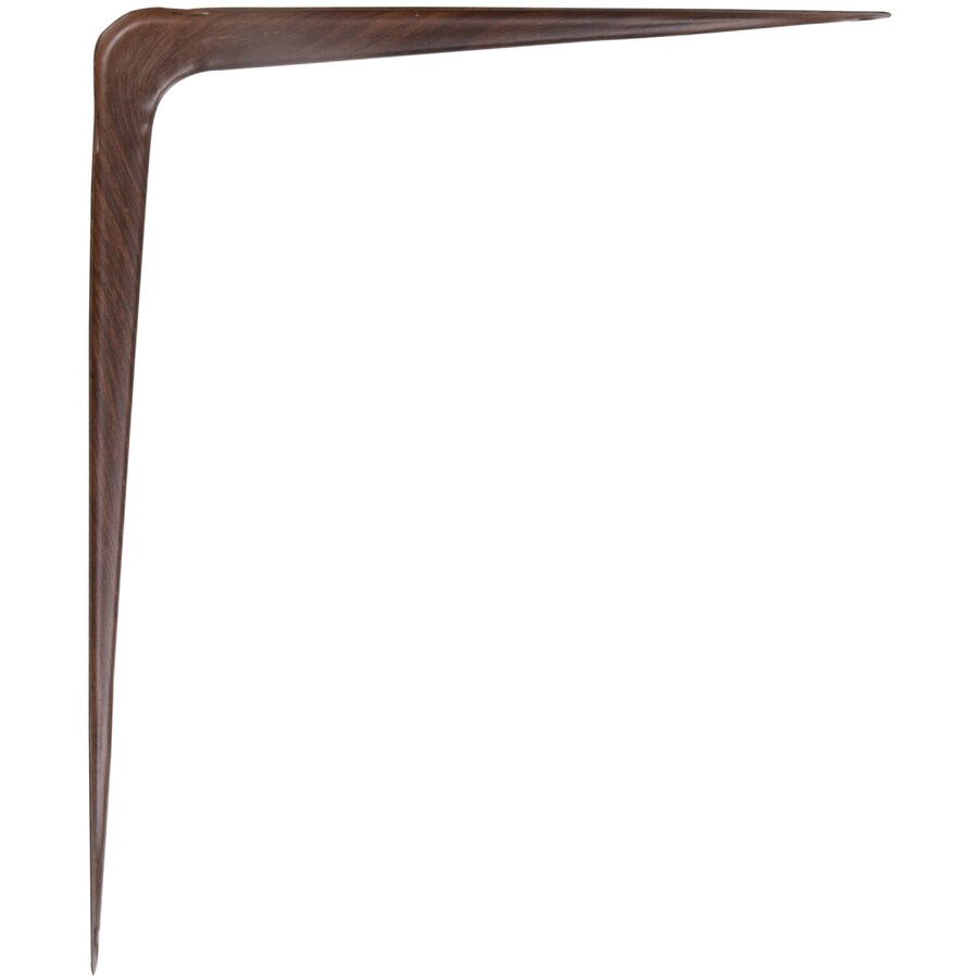Hillman Fruitwood L Shape Shelf Bracket