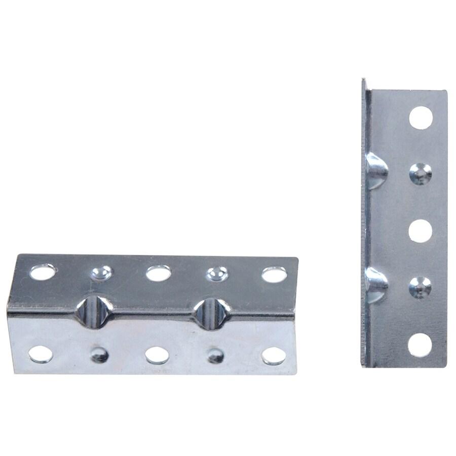 Hillman 20-Pack 2-1/2-in Zinc Corner Braces