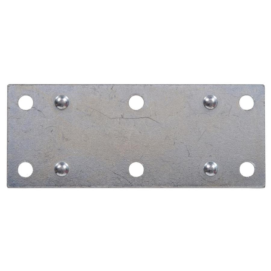 The Hillman Group 20-Pack 2.5-in x 1.38-in Zinc-Plated Mending Braces