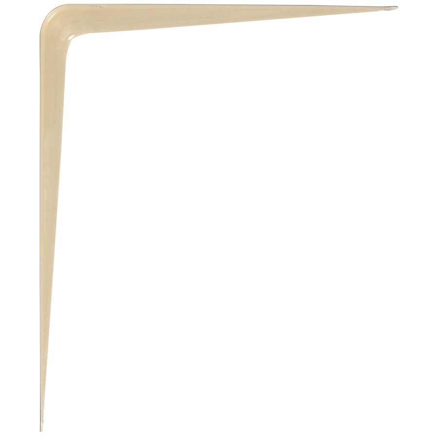 Hillman Almond L Shape Shelf Bracket