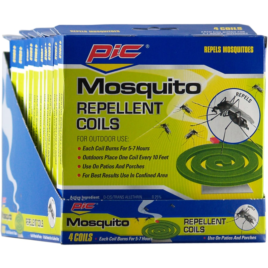 PIC 4-Pack Mosquito Repellent Coils
