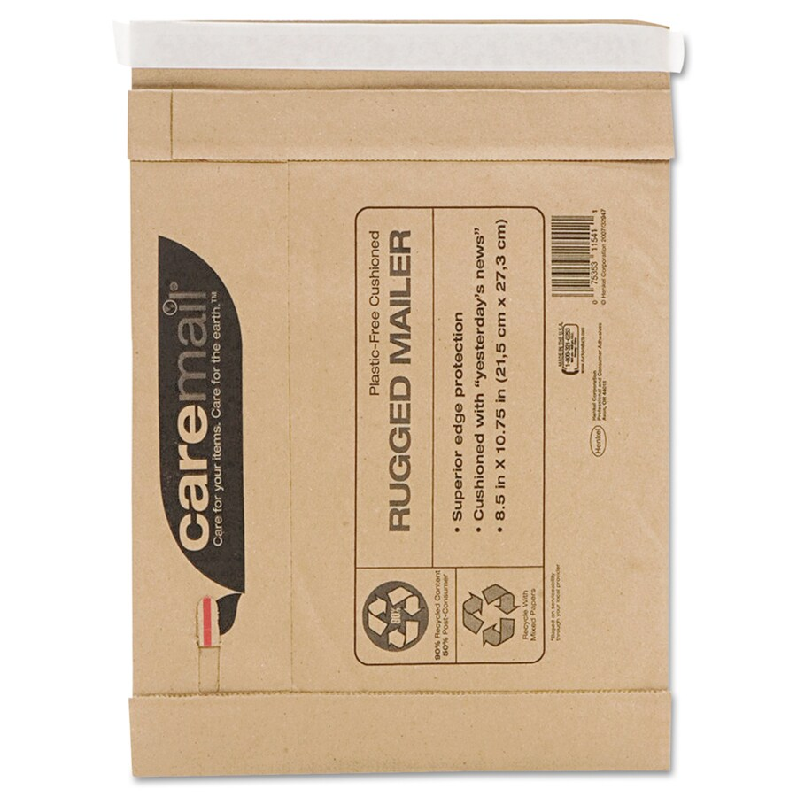 Caremail 25-Count #2 10.75-in x 8.5-in Padded Mailer