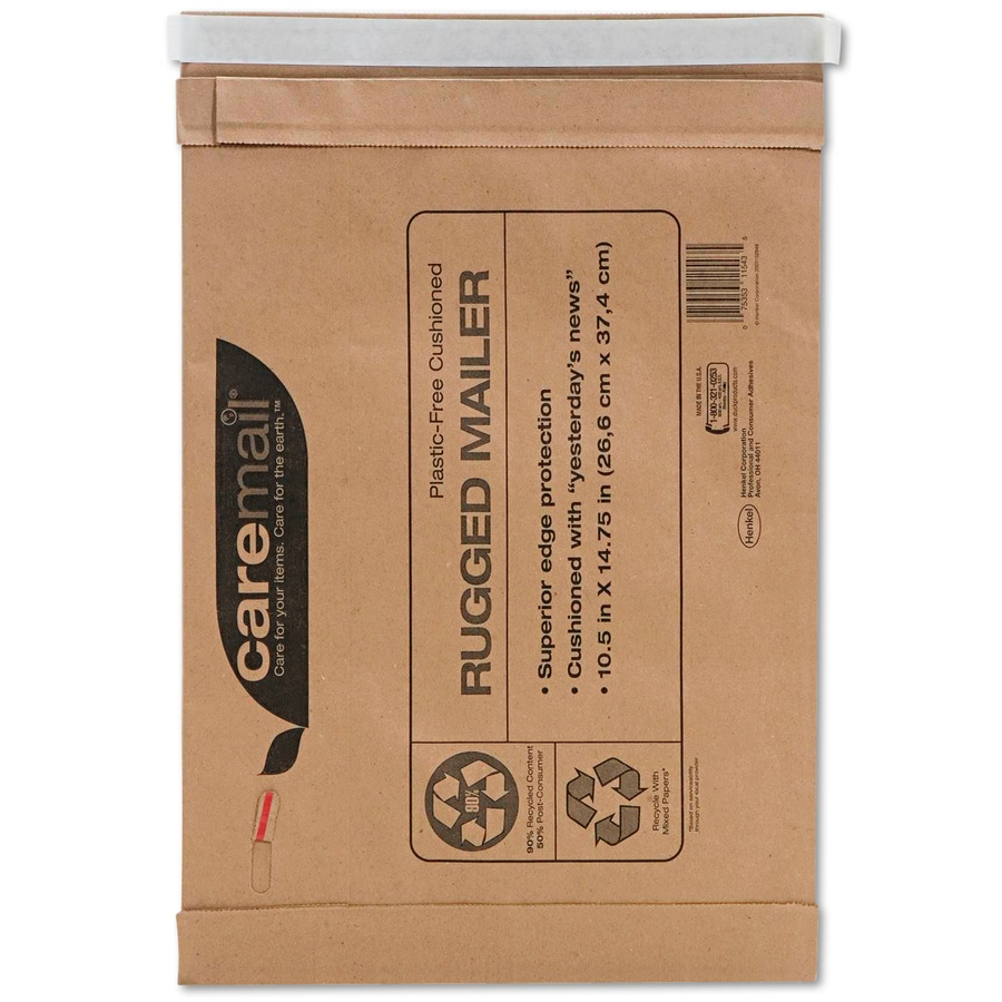 Caremail 25-Count #5 14.75-in x 10.5-in Padded Mailer