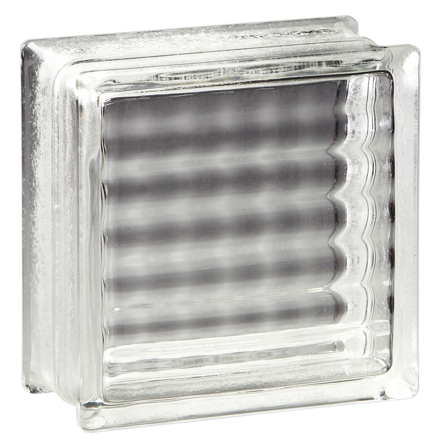 Pittsburgh Corning Argus Pemiere 12-Pack Glass Blocks (Common: 6-in H x 6-in W x 4-in D; Actual: 5.75-in H x 5.75-in W x 3.87-in D)