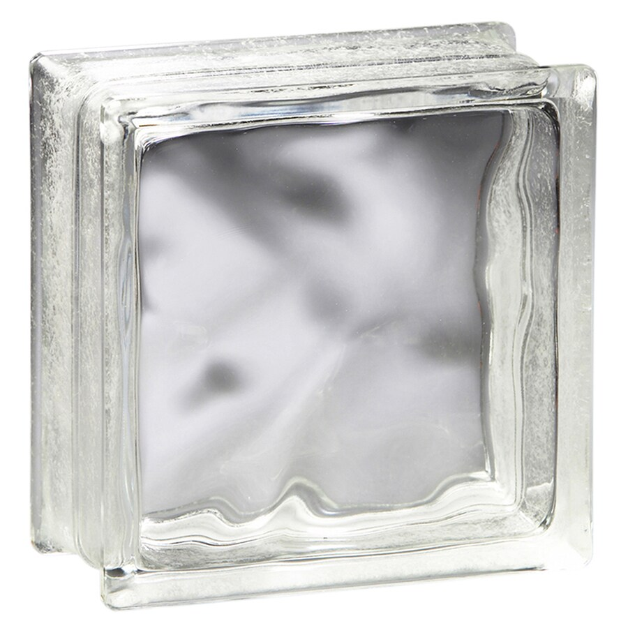 Pittsburgh Corning Decora Premiere 12-Pack Glass Blocks (Common: 6-in H x 6-in W x 4-in D; Actual: 5.75-in H x 5.75-in W x 3.87-in D)