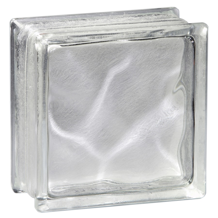 pittsburgh corning decora lx blocks pemiere 8 pack glass blocks common 8 - Glass Blocks Lowes