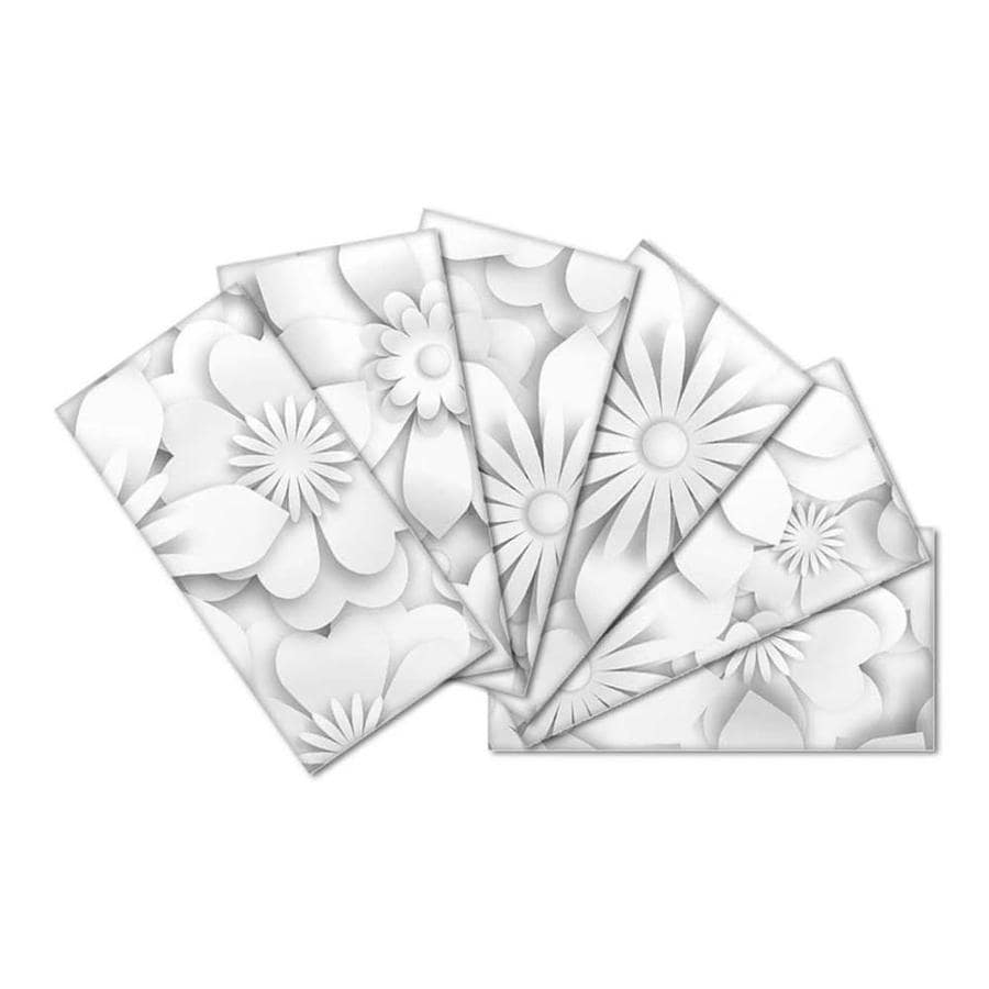 Instant Mosaic Upscale Designs By Ema 16 Pack 3 In X 6 In
