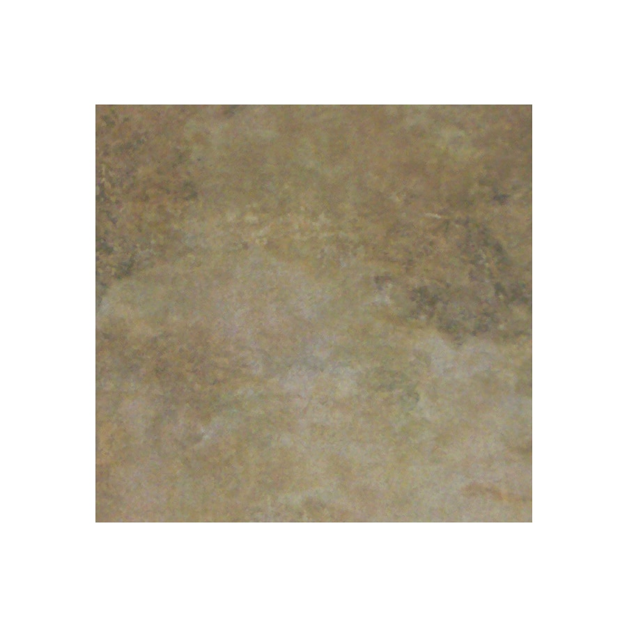 FLOORS 2000 10-Pack India Rust Ceramic Floor Tile (Common: 20-in x 20-in; Actual: 19.68-in x 19.68-in)